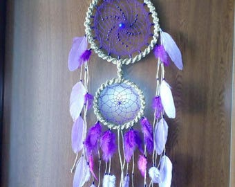 Purple Delight Dreamcatcher