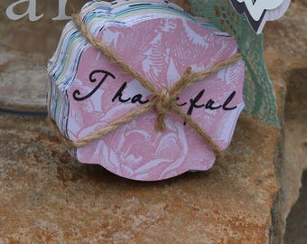 Gratitude Cards - Cards for Gratitude Jar - Blessing Cards - Thankful Cards