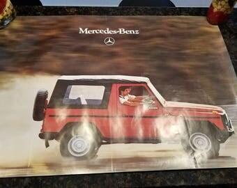 Mercedes Benz G230 Poster