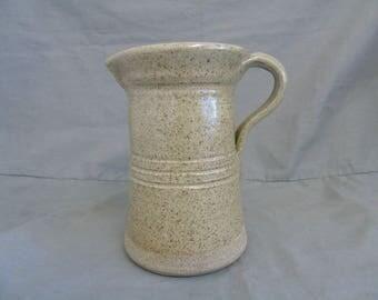 "st rognes ""France"" pottery jug"