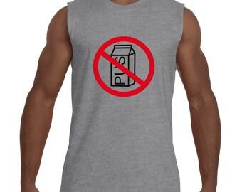 No Dairy Sleeveless T-Shirt