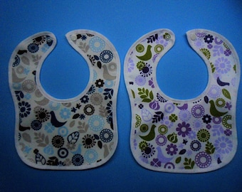 baby bibs pack of  2  100 % cotton