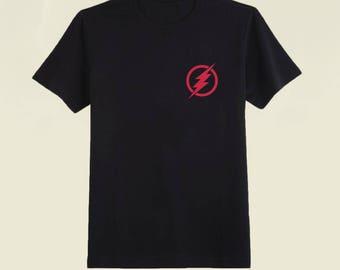 The Flash Side Logo Tee