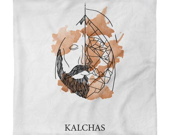 Kalchas Square Pillow Case only
