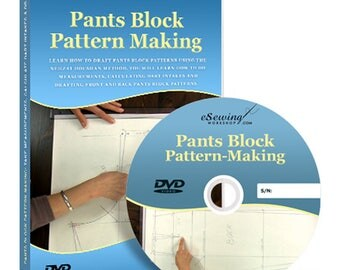 Pants Block Pattern Making Video Lesson on DVD