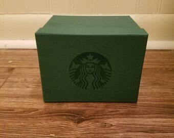 Original Cardboard Starbucks Gift Box