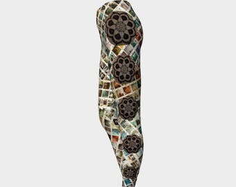 Multiple Colors Geometric Art Leggings