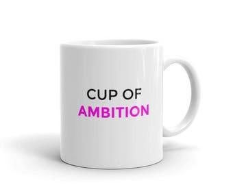Dolly Parton Cup of Ambition Coffee Humor Mug