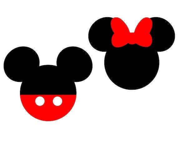 Mickey Mouse Svg Disney Svg Minnie Mouse Svg Bow Svg