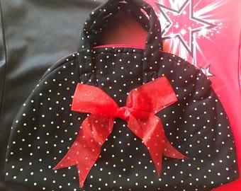 Cheer bow bag