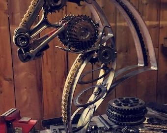 Ducati metal art horse