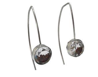 Garnet Shake Earrings