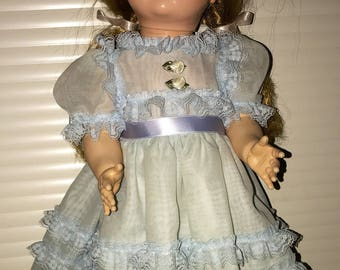 Vintage ideal doll saucy flirty walker doll 22""