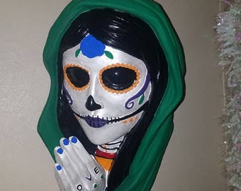 Santa muerte wall decor