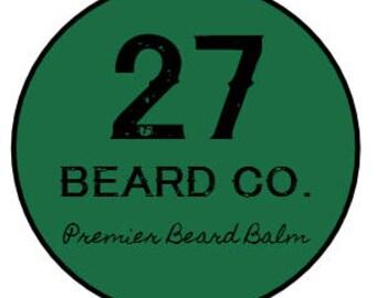 27 Beard Co. Beard Balm