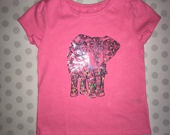 Holographic Elephant T-Shirt