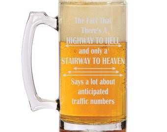 Highway to Hell Beer Mug