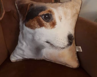 The Jack Russell cushion