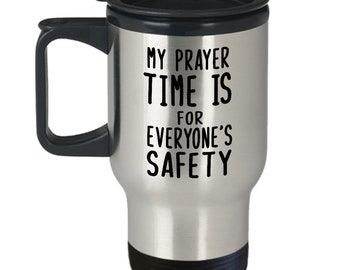 Christian Travel Mug for Women and for Men. Jesus Gifts. Christ Stainless Steel Coffee Mugs with Lids.