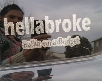 Hellabroke car decal
