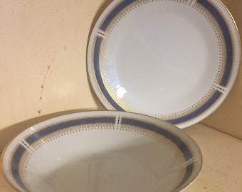 Noritake Salad Plate & Soup Bowl