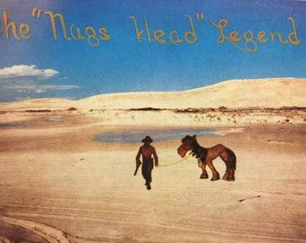 Vintage Postcard Nags Head NC The Nags Head Legend