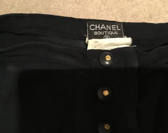 Beautiful Vintage Chanel Skirt excellent condition.