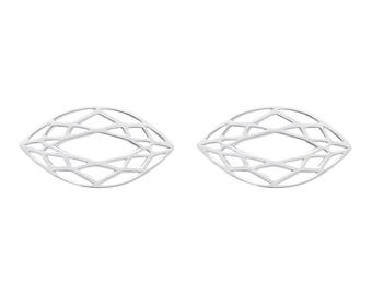 CUTS Marquise Earrings 20mm