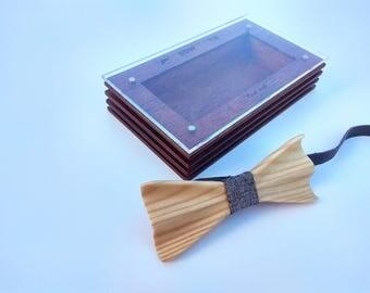 Philadelphia Handmade Wooden Bowtie