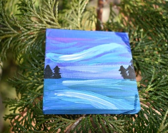Mini Landscape: Northern Lights