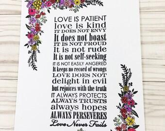 Love Never Fails Boxset Notecards
