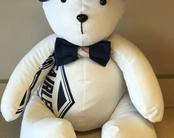 Graduation Signature Keepsake Memory Bear!