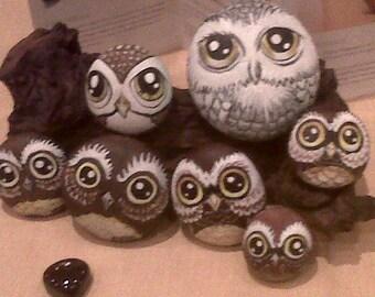 RockinReiki handpainted Reiki infused stones