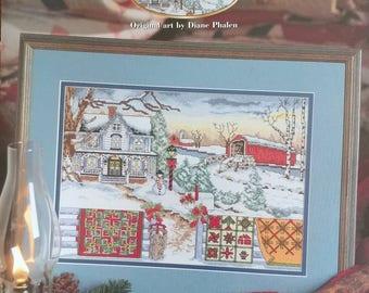 Country Christmas Cross Stitch Pattern