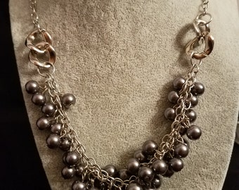 Gray Gunmetal Pearls