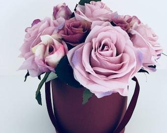 Bouquet of dusky purple Roses