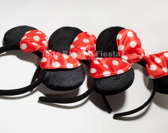 Minnie Ears Headband Polka Dot Minnie Mouse Ears