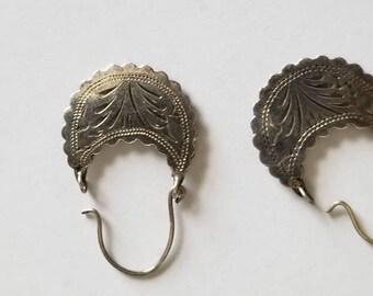 Light Weight Dangle Sterling Silver Earrings