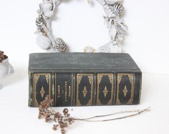 """Antique french book:Litterature française"""".1896"""