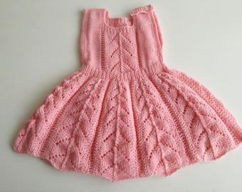 Pink handmade princess dress