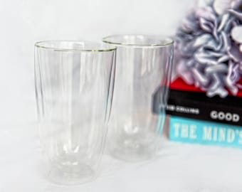Lepop Double–wall Glass Cup
