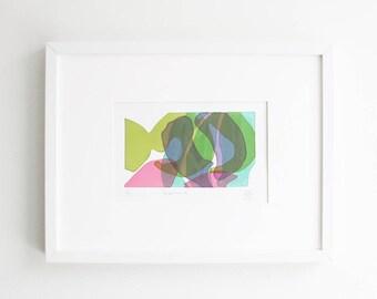 Aubergine Silkscreen Print