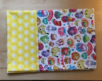 Shopkin w/Yellow Trim Pillowcase