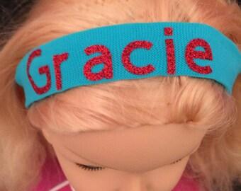 Personalised girls headband