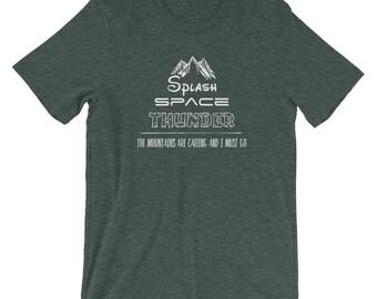 Disney Mountains (Splash, Space, Thunder) T-Shirt - Dark