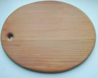 Wooden breakfast board Wooden platter,wooden board for kitchen, hand-made kitchen board