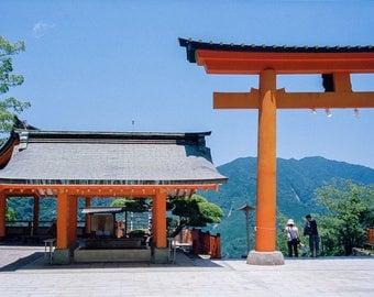 Torii Gate - Kumano Nachi Taisha Temple