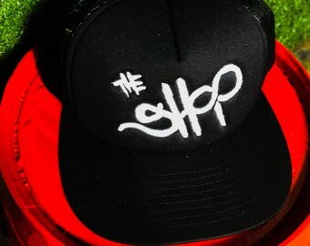 Exclusive The Shop On Hollywood Trucker hat (small batch hats designed by Robert Anthony Jacobs)