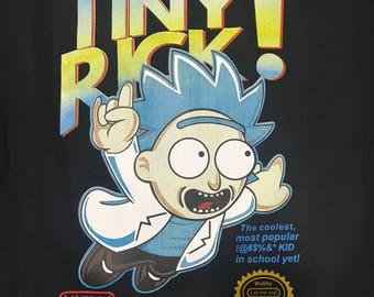 Tiny Rick Tee - Rick & Morty