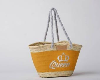 Silver Queen - Handmade handbag